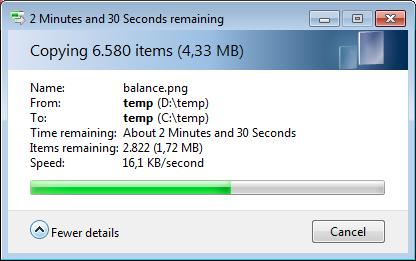 FastCopy - Free File Copy Tool Runs Circles Around Explorer