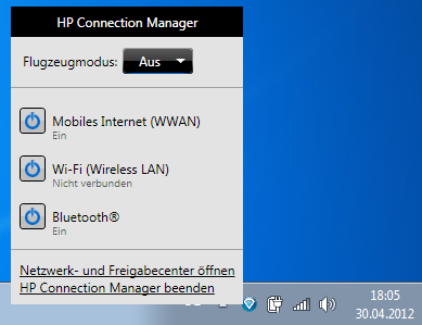 HP Notebook PCs - Connecting to a Network with Connection Manager 4.x