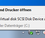 Eject VMware Virtual disk SCSI Disk Device