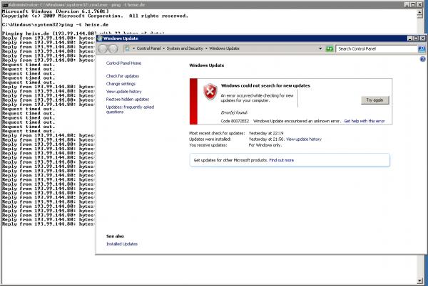 Windows Update Error in Client Hyper-V 01b