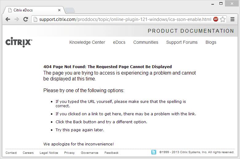 XenDesktop Logon Failure: Desktop Viewer Pops up and Closes • Helge