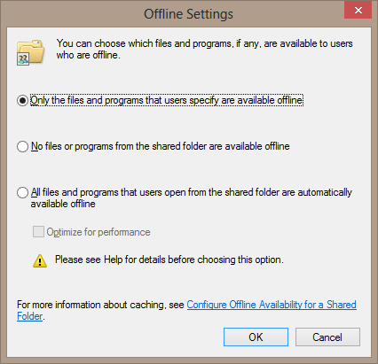 Windows Offline Files: Problems and Solutions • Helge Klein