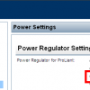 iLO Power Settings