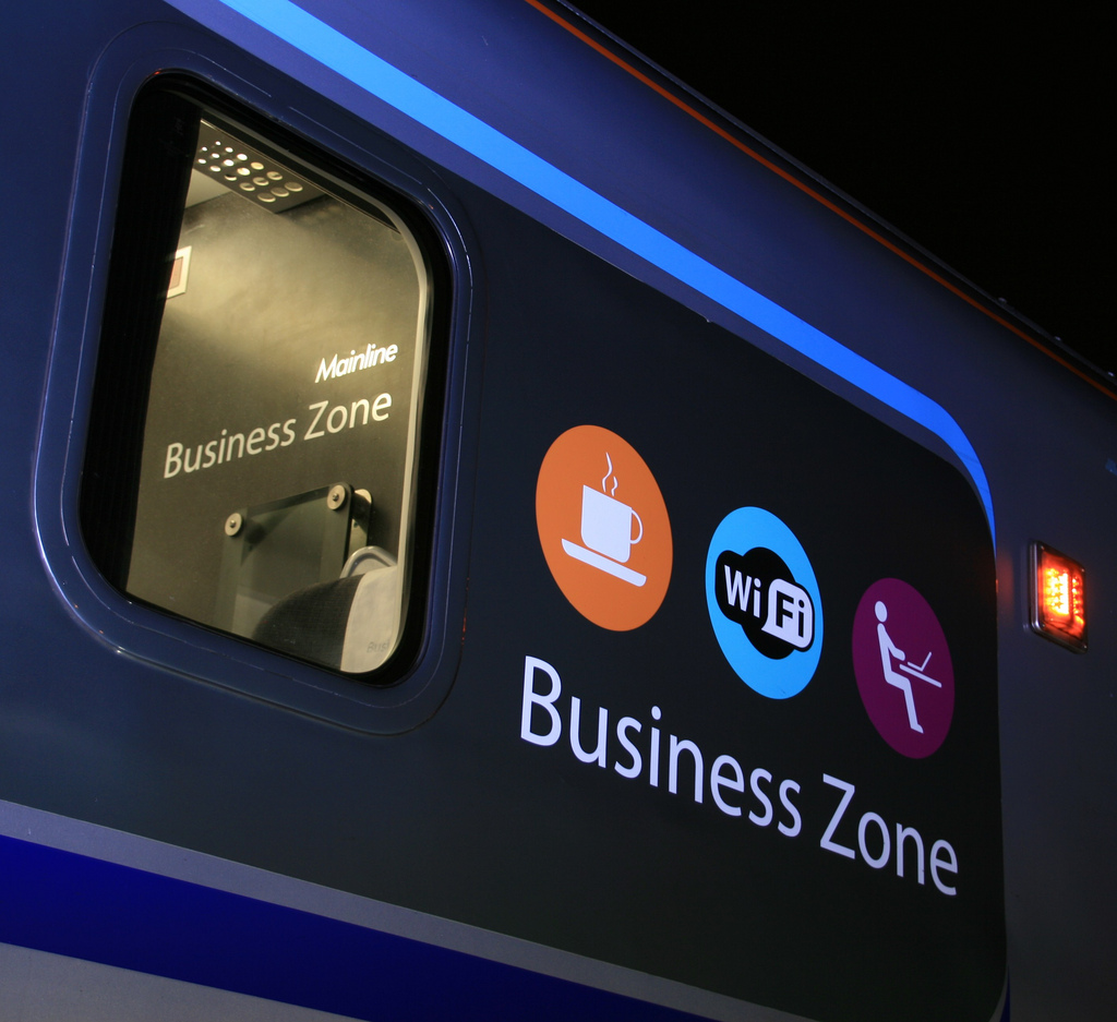 Business Zone by Mick Baker under CC