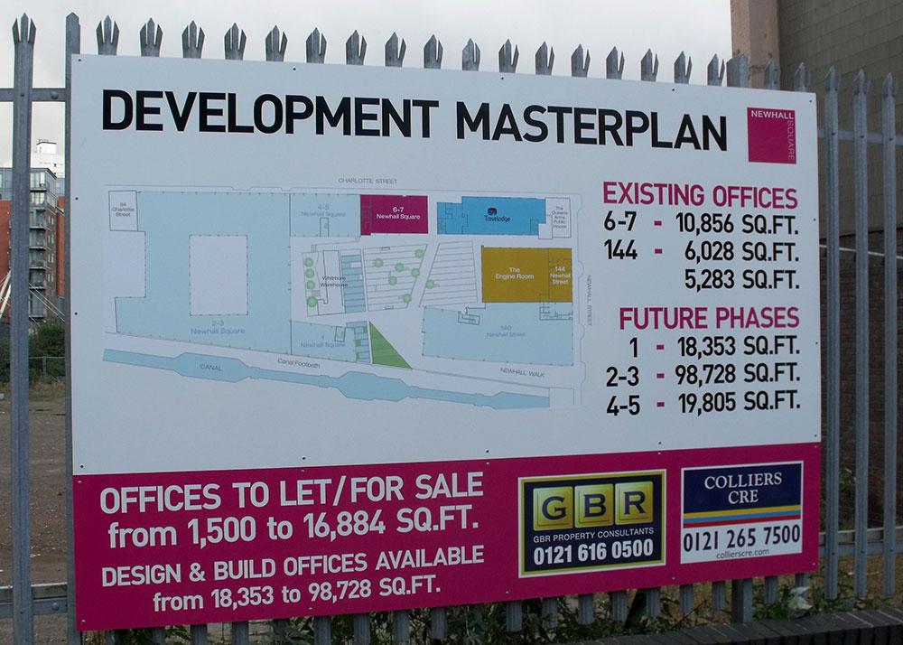 Development Masterplan by Elliott Brown under CC