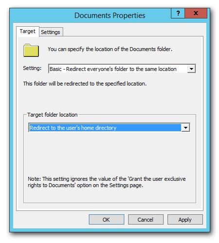 Documents-redirection-dialog