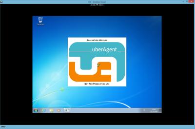 XenDesktop 7.6 VDA desktop with black border