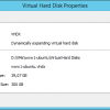 VHDX size in Hyper-V Manager