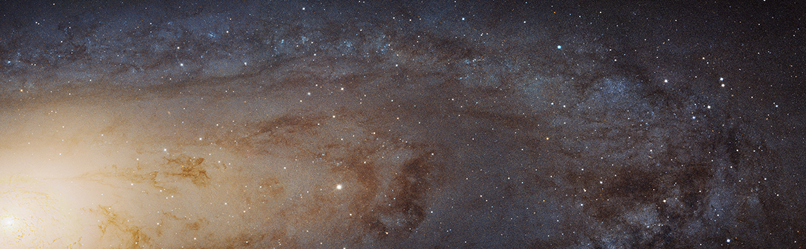 Hubble's High-Definition Panoramic View of the Andromeda Galaxy by NASA Goddard Space Flight Center under CC