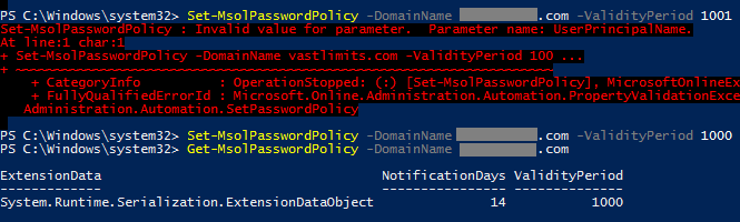 Disabling Azure Active Directory Password Expiration • Helge